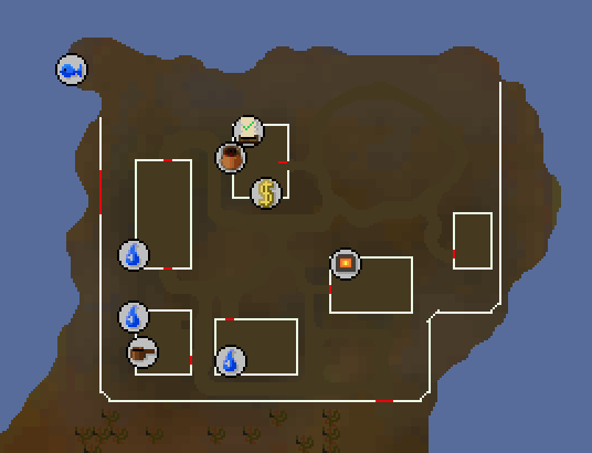 OSRS Monkfish Location