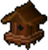 Redwood Bird House