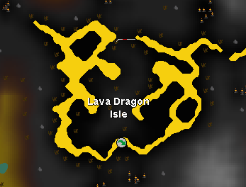 Lava Dragons appear to be following celebrities' trend of getting their own little private island. They think too good of themselves, show them who's the baws!