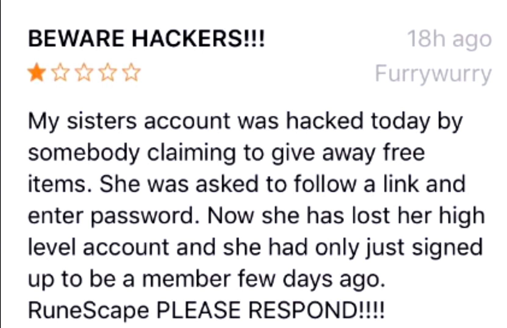 This is one of more popular scam methods, pay attention!