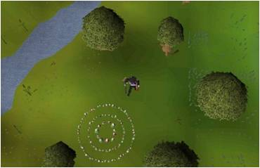 standing on edgeville fairy ring