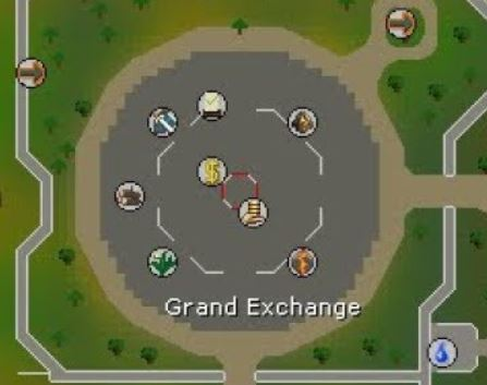 osrs map of the grand exchange