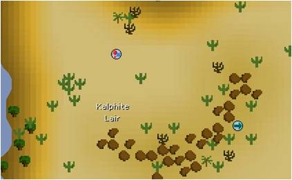 map of kalphite lair