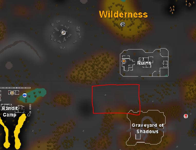 osrs map of green dragons location