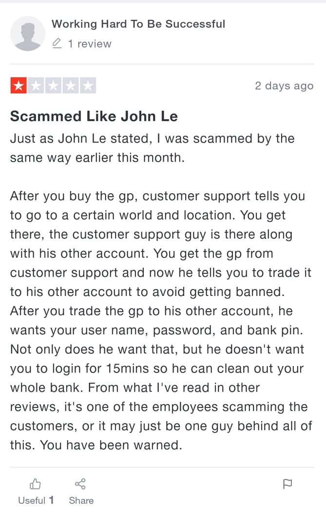 Legit review of one of Rsorder customers claiming they scammed him.